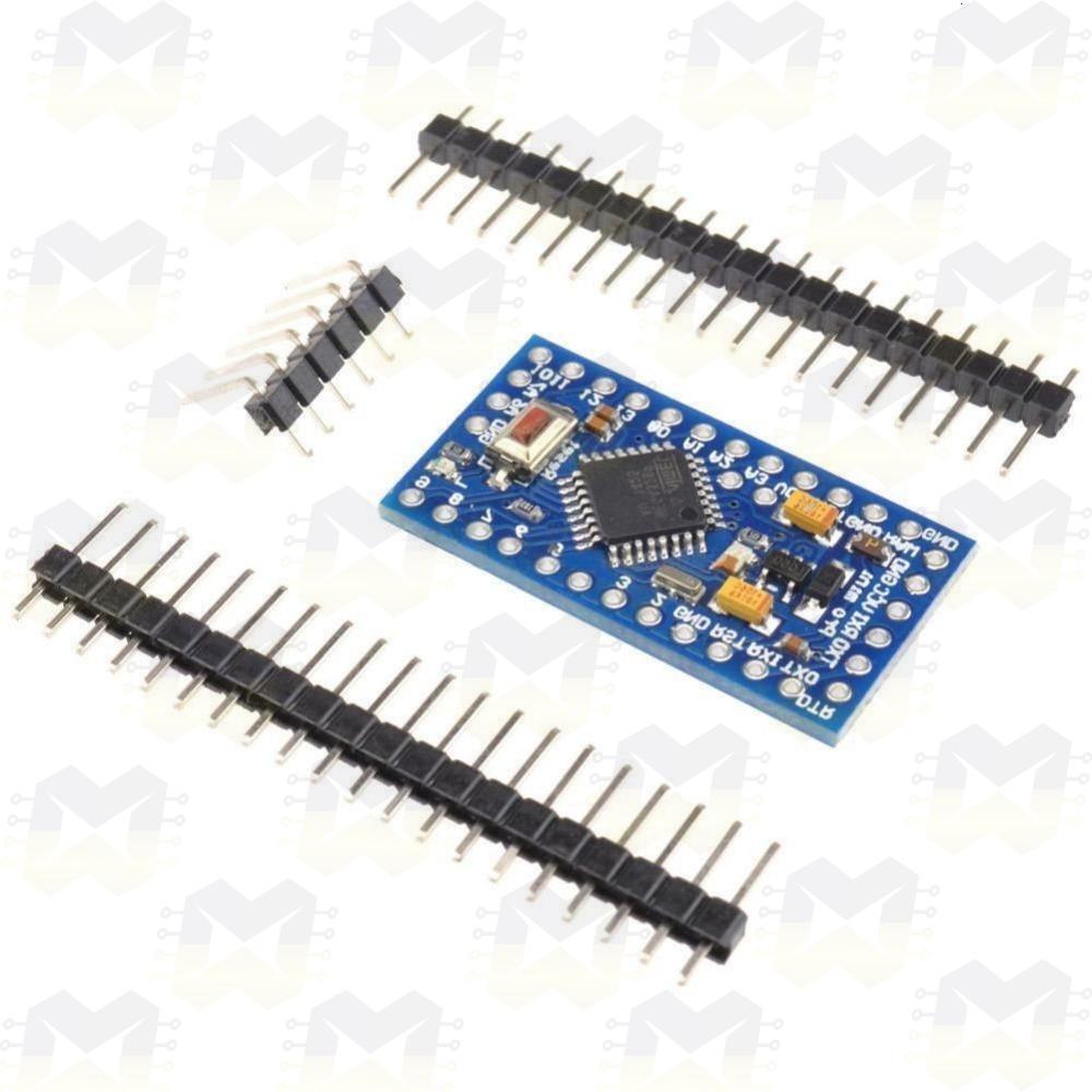 Arduino Pro Mini com Cabo USB  Projetos Robótica Automação Residencial