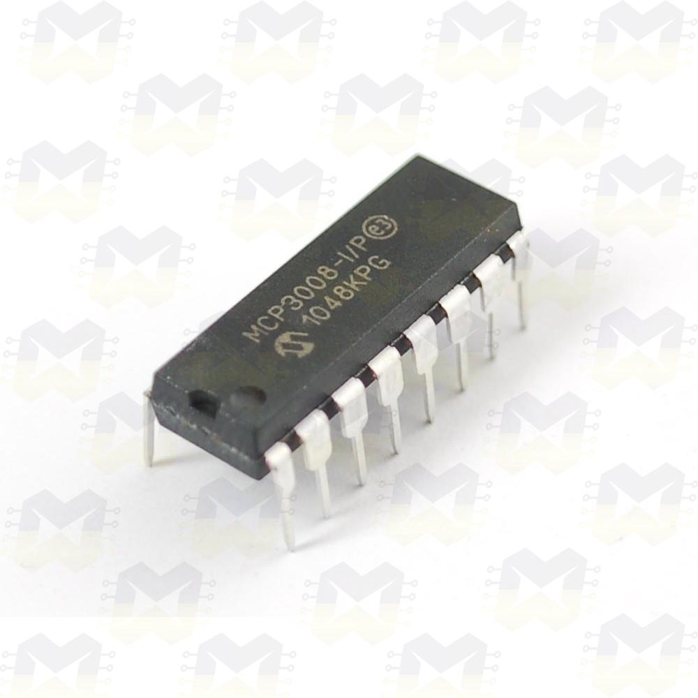 MCP3008 Conversor Expansor ADC de 10 Bits Arduino PIC Raspberry NodeMCU ESP8266