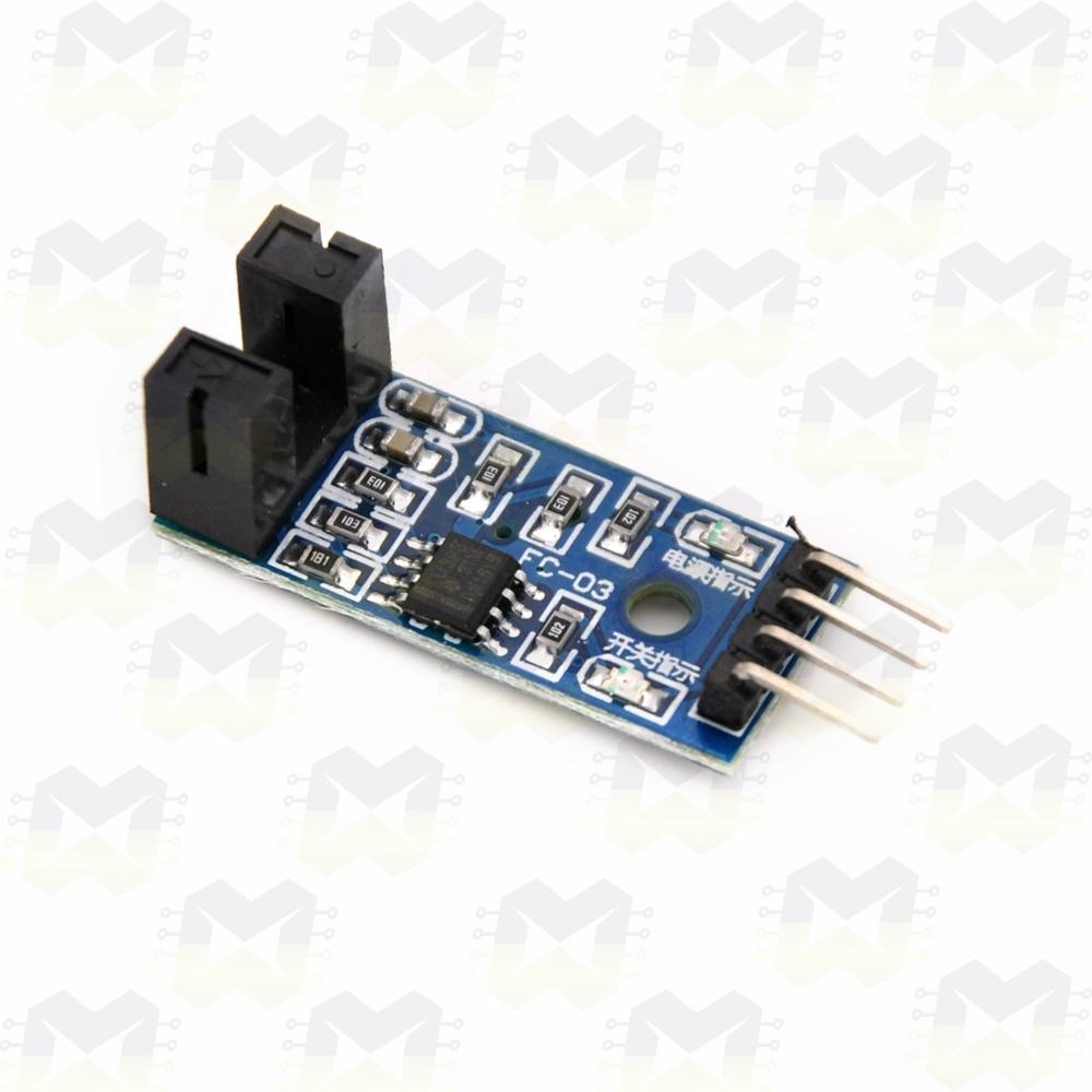 Sensor de Velocidade (Encoder) / Chave Óptica 5mm Arduino Raspberry PIC NodeMCU ESP8266 Motor Disco