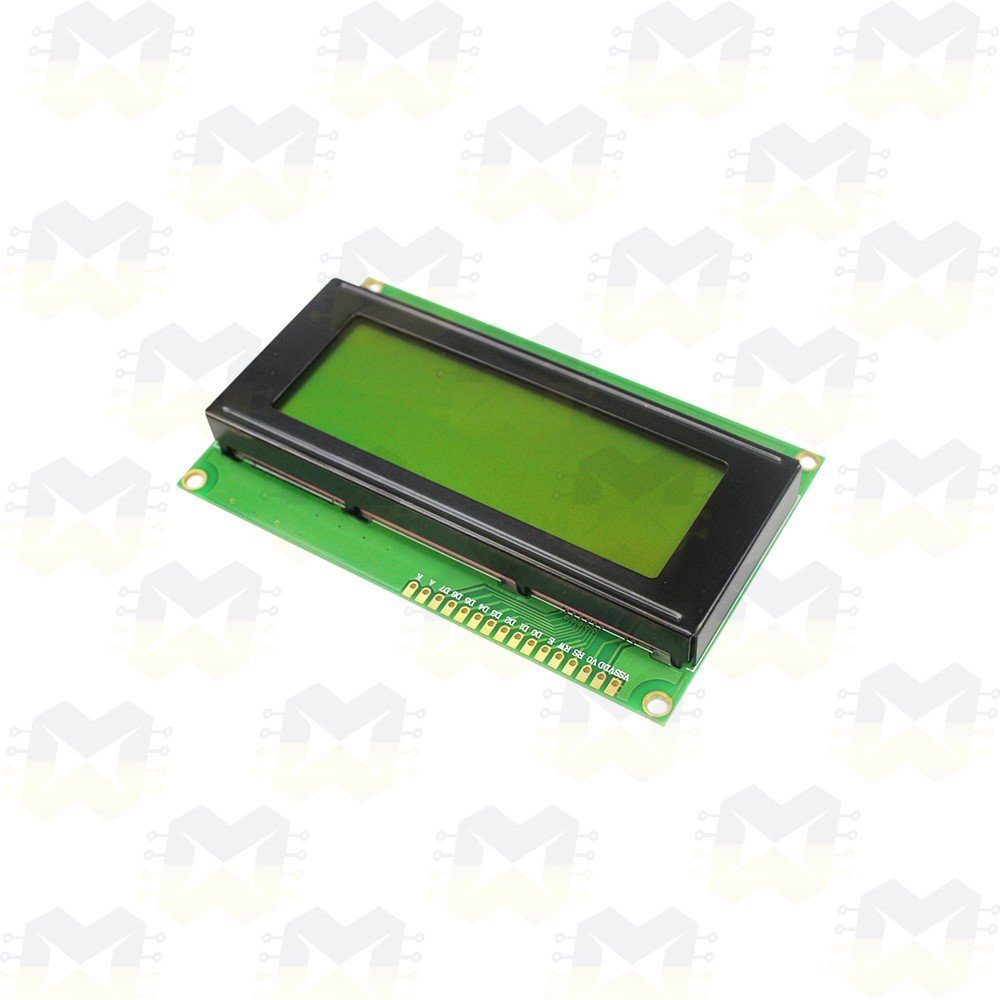 Display LCD 20x4 com Backlight (fundo) Verde
