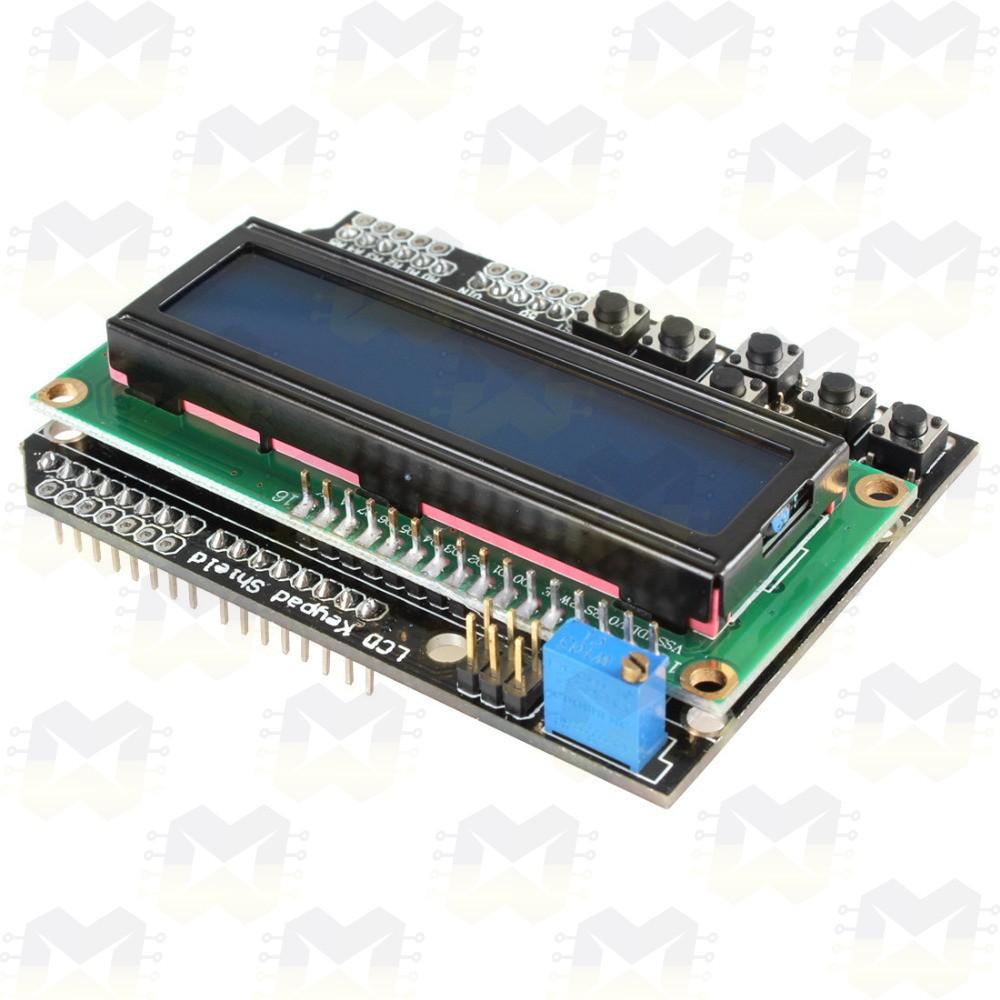 Display LCD 16X2 Shield com Teclado