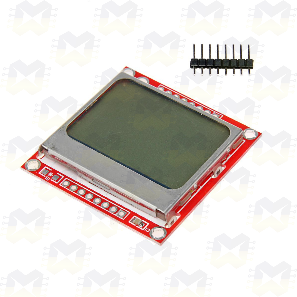 Display LCD 84x48 Nokia 5110 Arduino NodeMCU ESP8266 Raspberry PIC