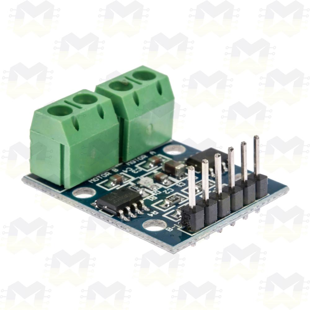 Módulo Ponte H HG7881 Driver Motor DC passo Servo Arduino Robótica Componentes Eletrônicos Prototipagem