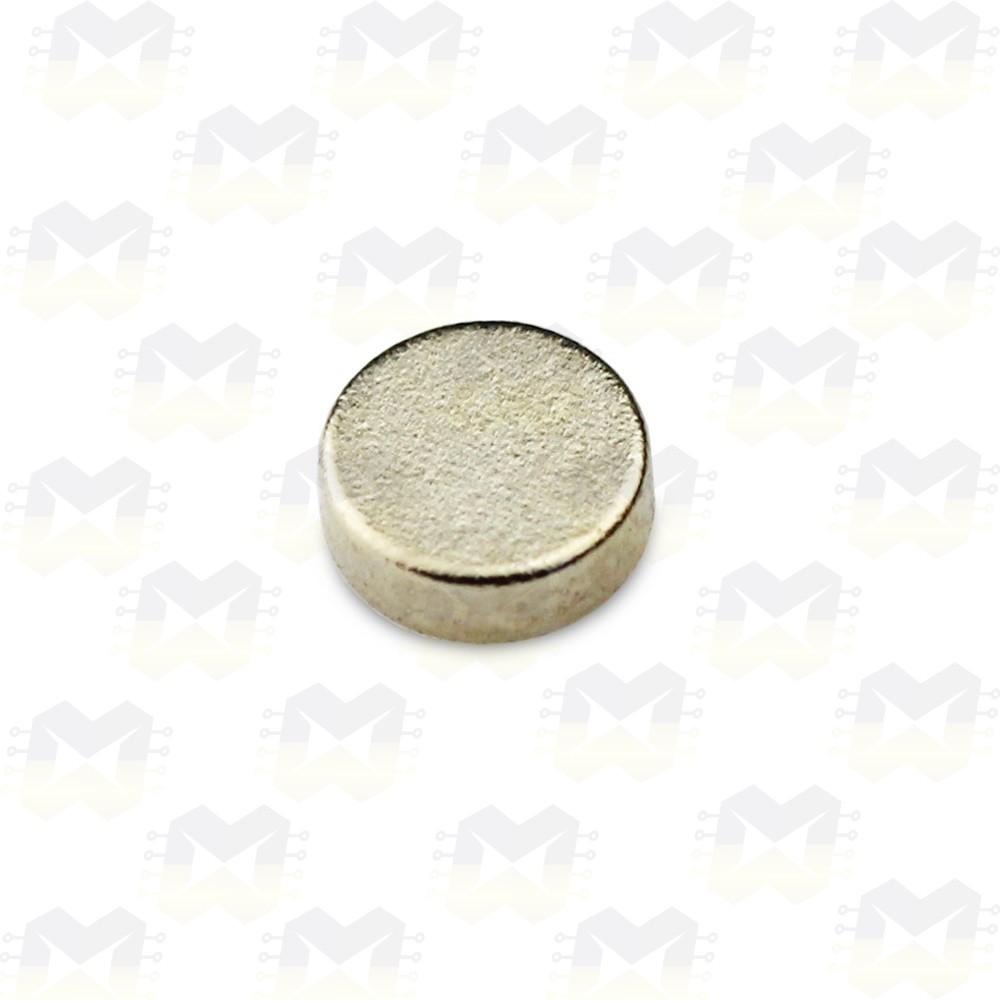 Imã De Neodímio 5mmx1mm N35
