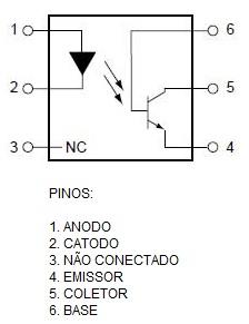 optoacoplador_4N25_arduino_nodemcu_esp8266_raspberry_pic_tensao_alternada_ac_tensao_dc_isolador_optico_fotoacoplador