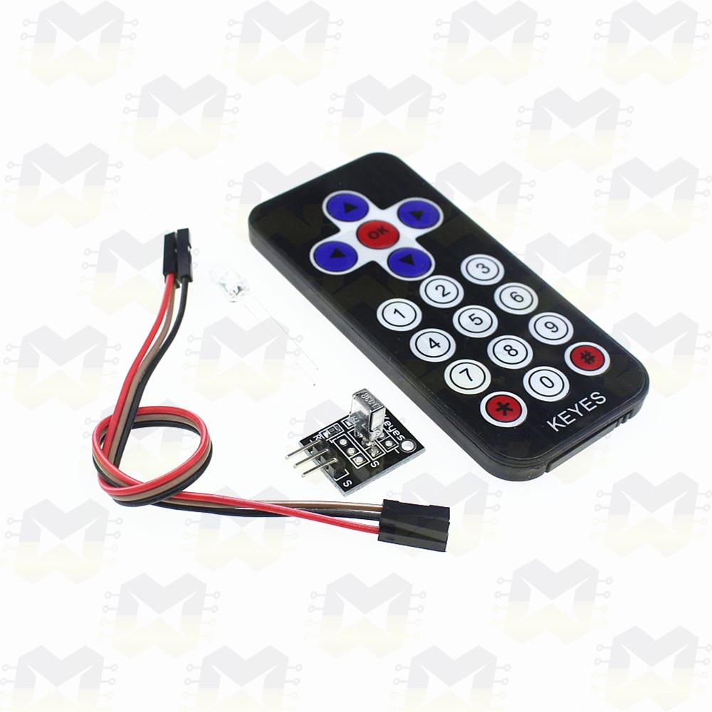 Kit Controle Remoto Infravermelho Arduino NodeMCU ESP8266 Raspberry PIC Automação Residencial