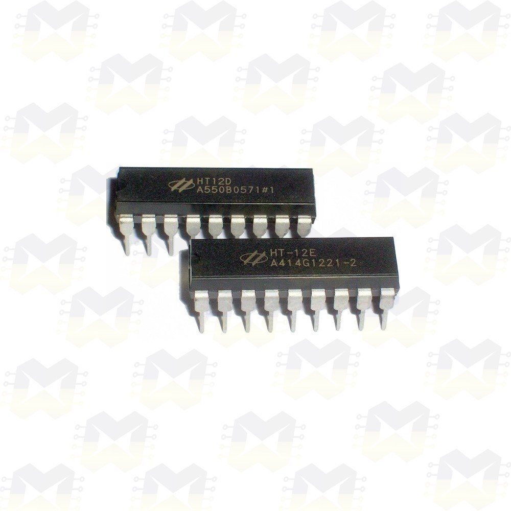 KIT HT12E e HT12D (Encoder e Decoder)