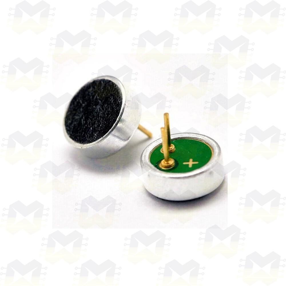 Microfone (Captador) de Eletreto 4.5x2.2mm