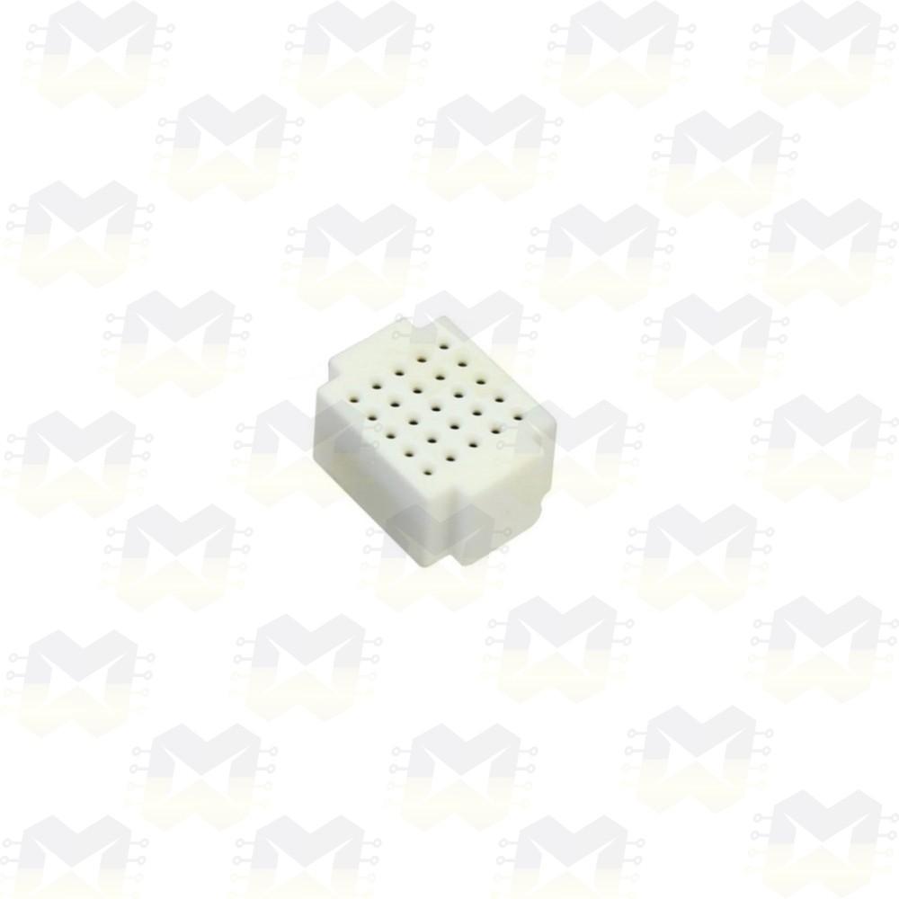 Mini Protoboard Branca de 25 Pontos (Lego)