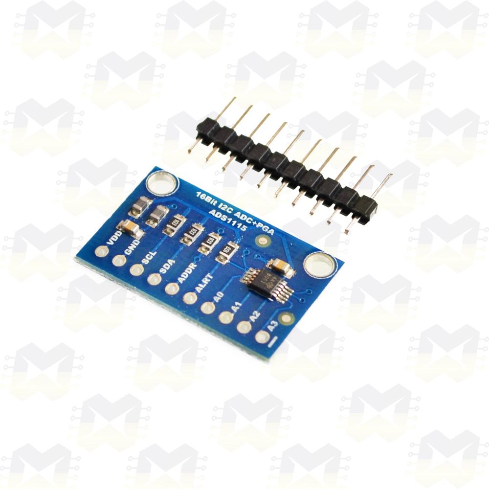 Módulo ADS1115 Conversor Expansor ADC de 16 Bits Arduino PIC Raspberry NodeMCU ESP8266