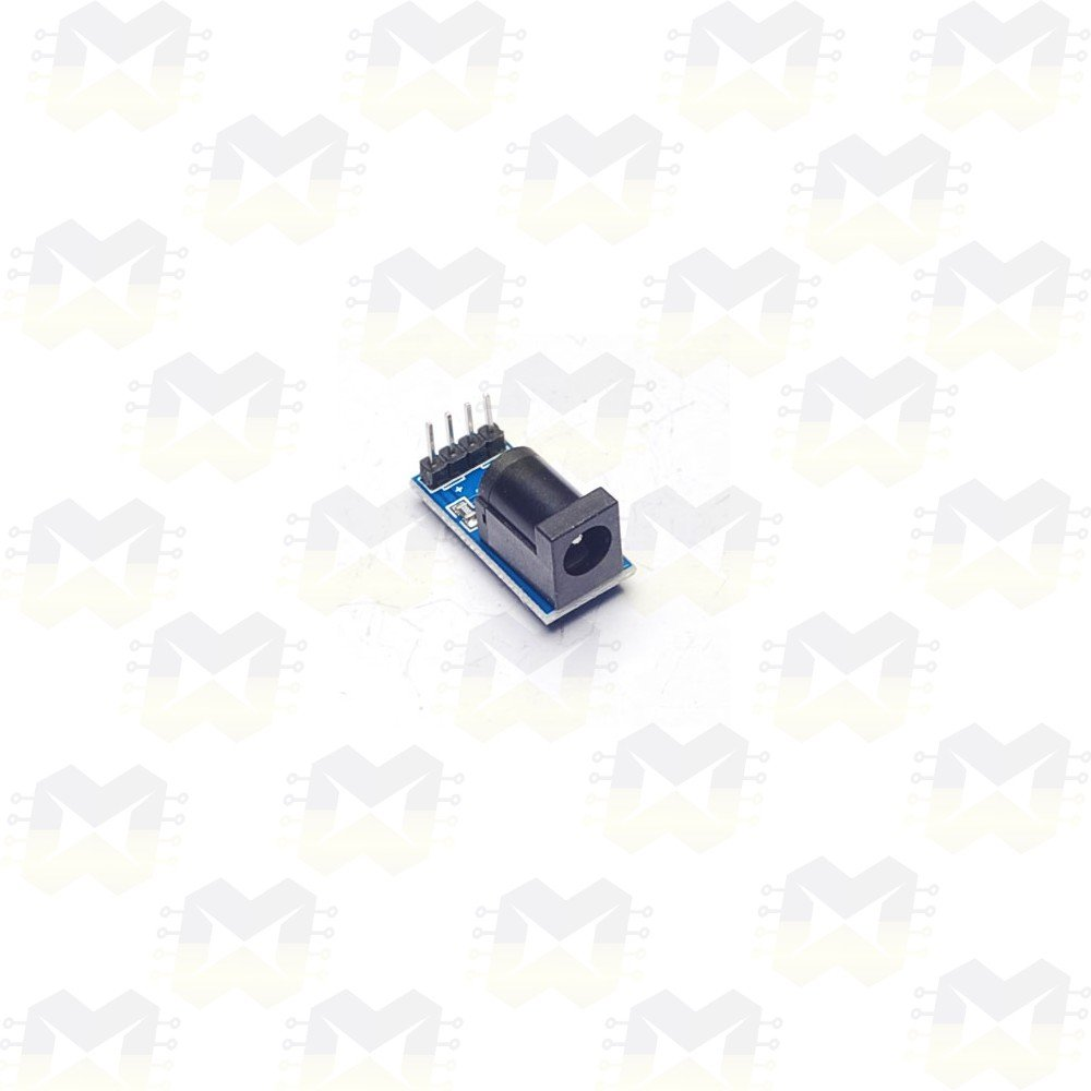 Módulo Conector Jack P4 2.1mm Fêmea