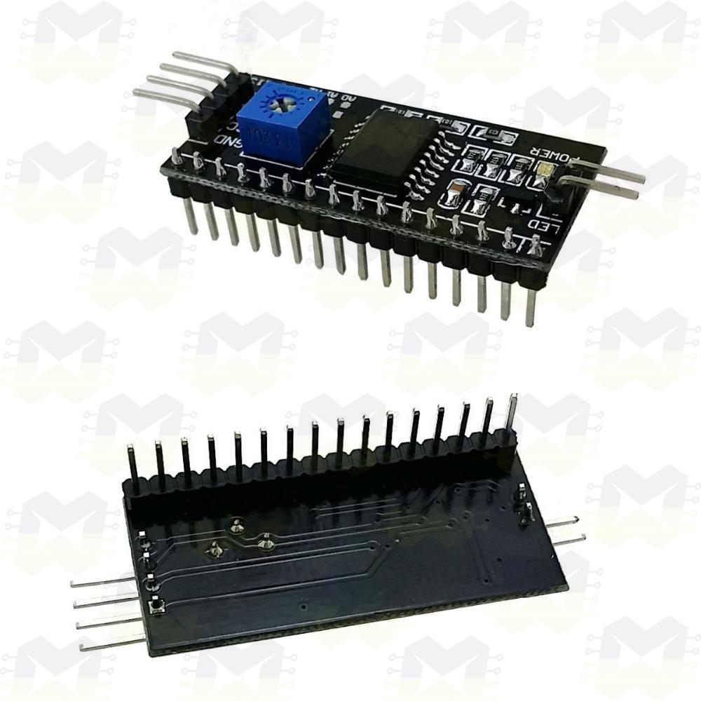 Módulo Adaptador I2C para Display LCD (16X2 / 20X4) Arduino NodeMCU ESP8266 Raspberry PIC