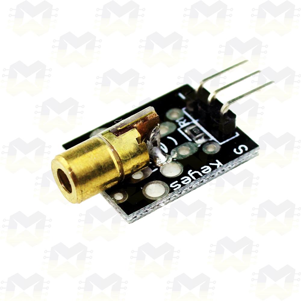 Módulo Laser LED 6mm 650nm de Alta Potência Arduino NodeMCU ESP8266 Raspberry PIC