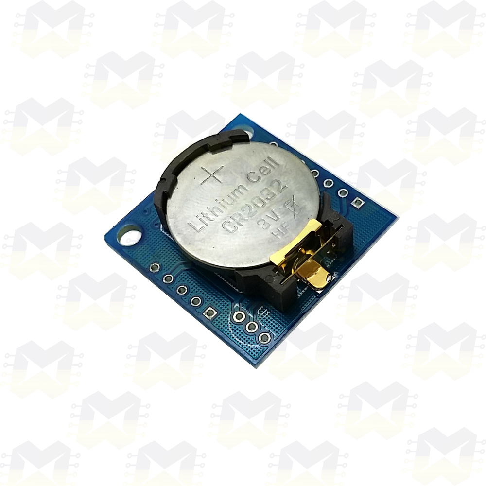 Módulo Real Time Clock RTC DS1307 Arduino PIC Raspberry Horas Minutos Relógio Cronômetro DS18B20 Automação Residencial Robótica