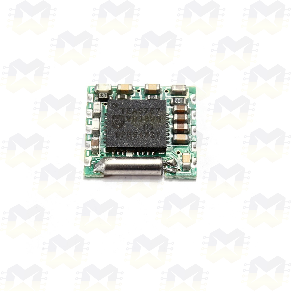 Módulo Receptor (Rádio) FM - Philips TEA5767 Arduino PIC Raspberry MP3 MP4