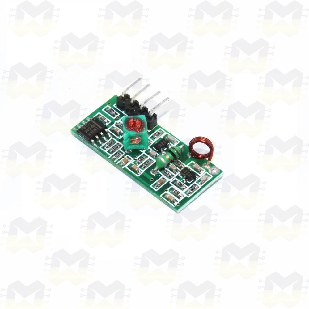 Módulo Receptor Wireless RF 433MHz
