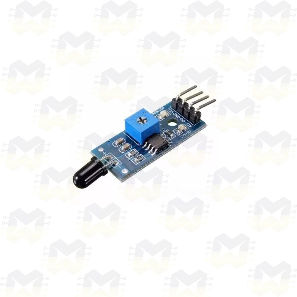 Sensor Detector de Fogo/chama Infravermelho para Arduino NodeMCU ESP8266 PIC