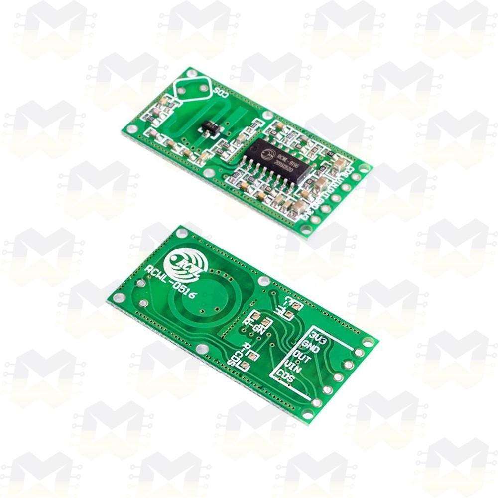 Sensor Microondas RCWL-0516 (Detector) de Movimento