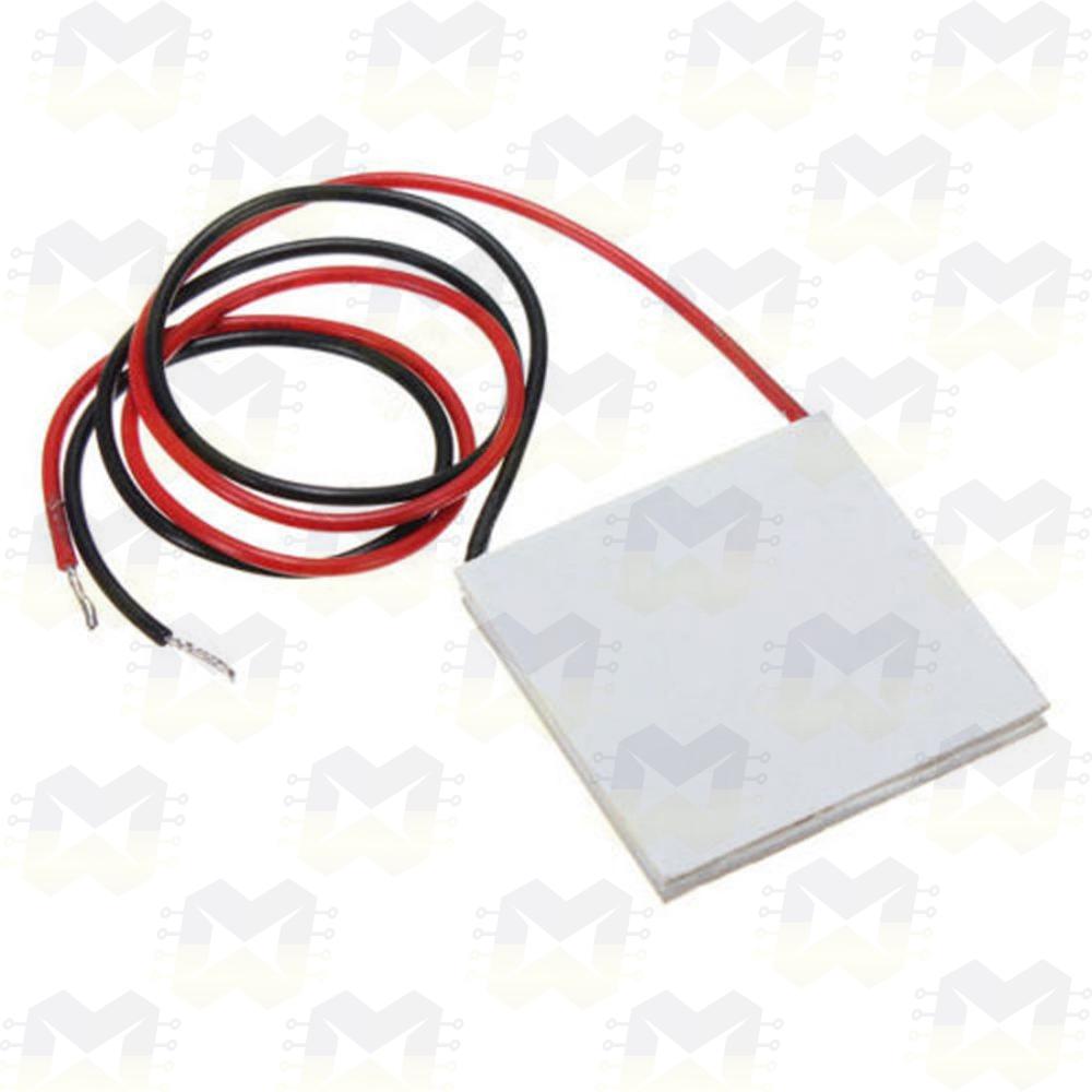 Pastilha Termoelétrica Peltier TEC1-127 Arduino Cooler Overclok Resfriar Esquentar PC