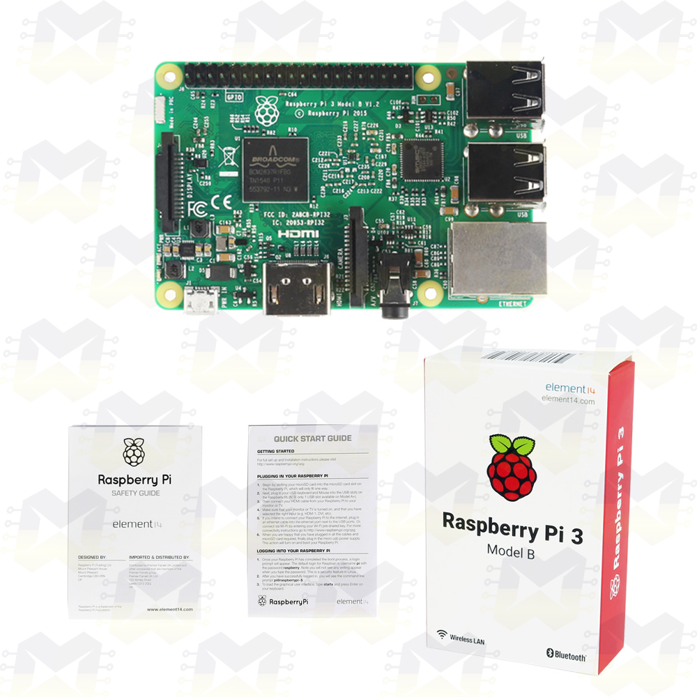 Raspberry Pi 3 Model B (WiFi e Bluetooth 4.1)