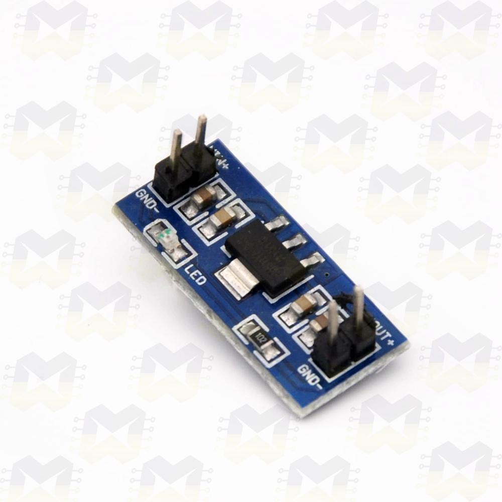 Módulo Regulador de Tensão 3.3V - AMS1117 Arduino Fonte PIC Raspberry NodeMCU ESP8266 Protoboard
