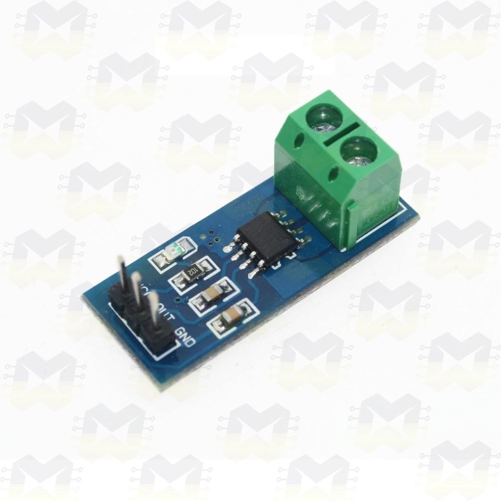Sensor de Corrente (AC e DC) ACS712-5A