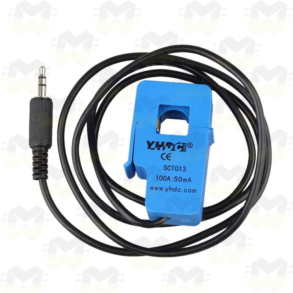 Sensor de Corrente AC Não Invasivo 100A - SCT-013 Arduino PIC Raspberry Automação Residencial Medidor