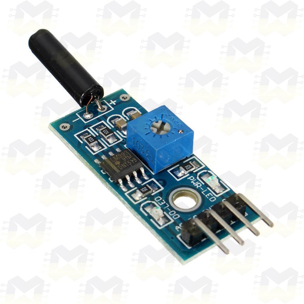 Sensor (Detector) de Vibração - SW-18015P Arduino Raspberry PIC NodeMCU ESP8266 Automação Residencial Terremoto