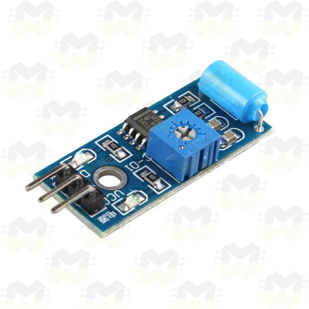 Sensor (Detector) de Vibração - SW-420 Arduino Raspberry PIC NodeMCU ESP8266 Automação Residencial Terremoto