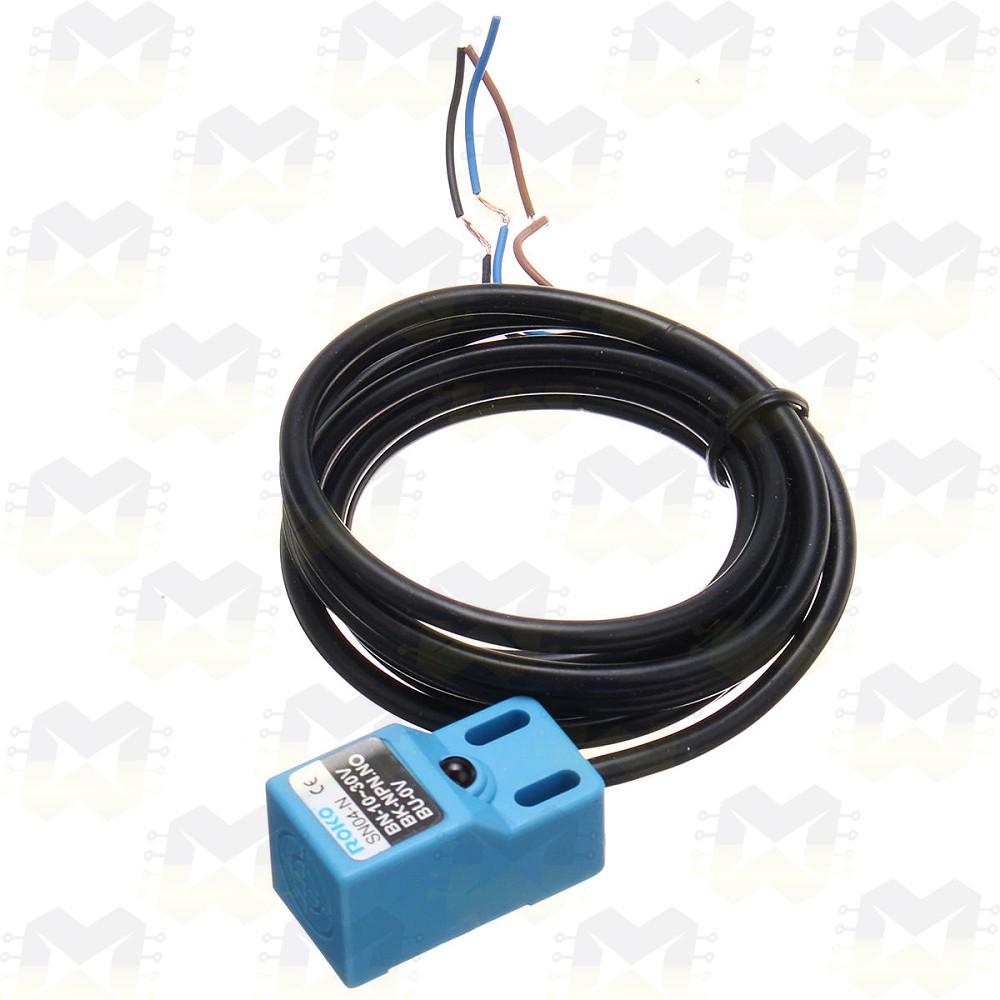 Sensor Indutivo NPN de Proximidade SN04-N