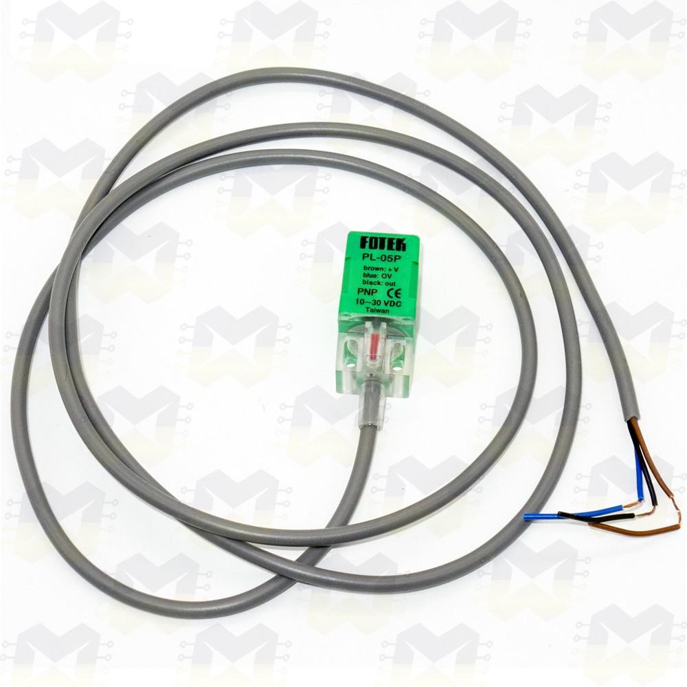 Sensor Indutivo PNP de Proximidade Fotek PL-05P