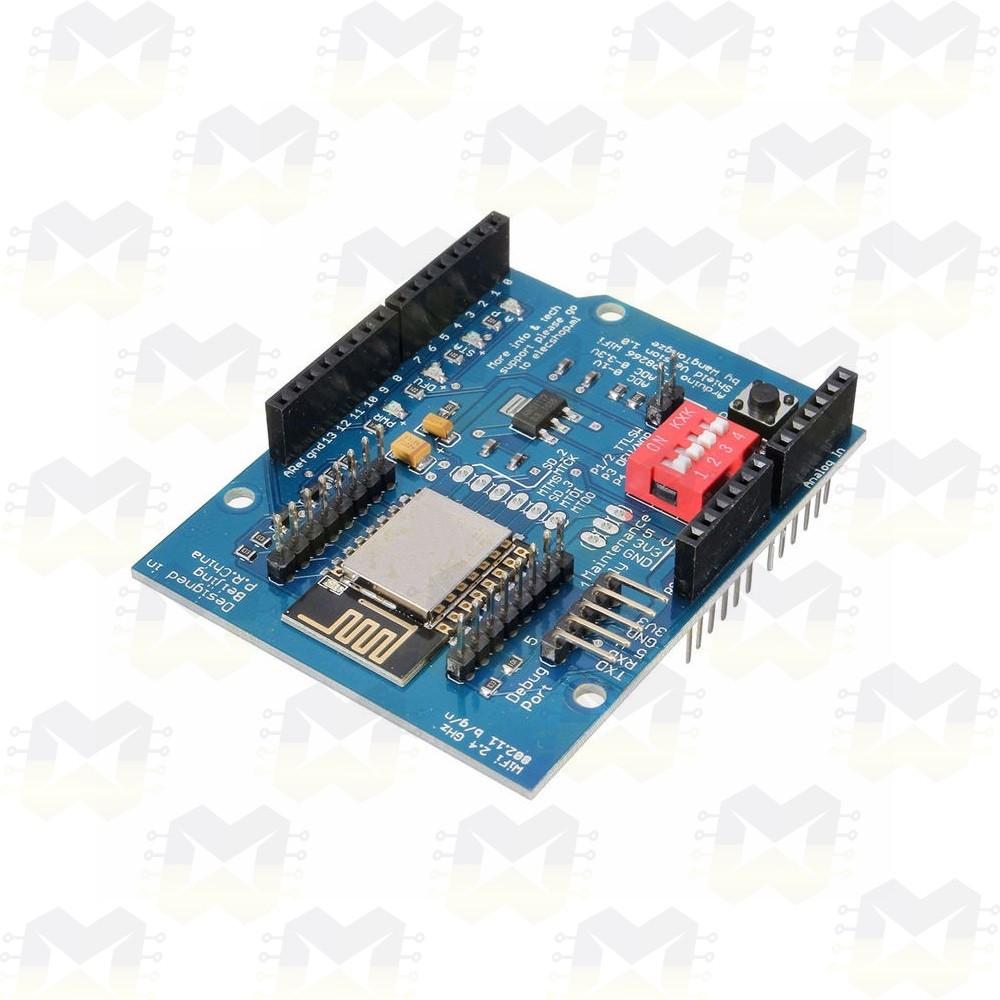 Shield WiFi ESP8266 ESP-12E para Arduino