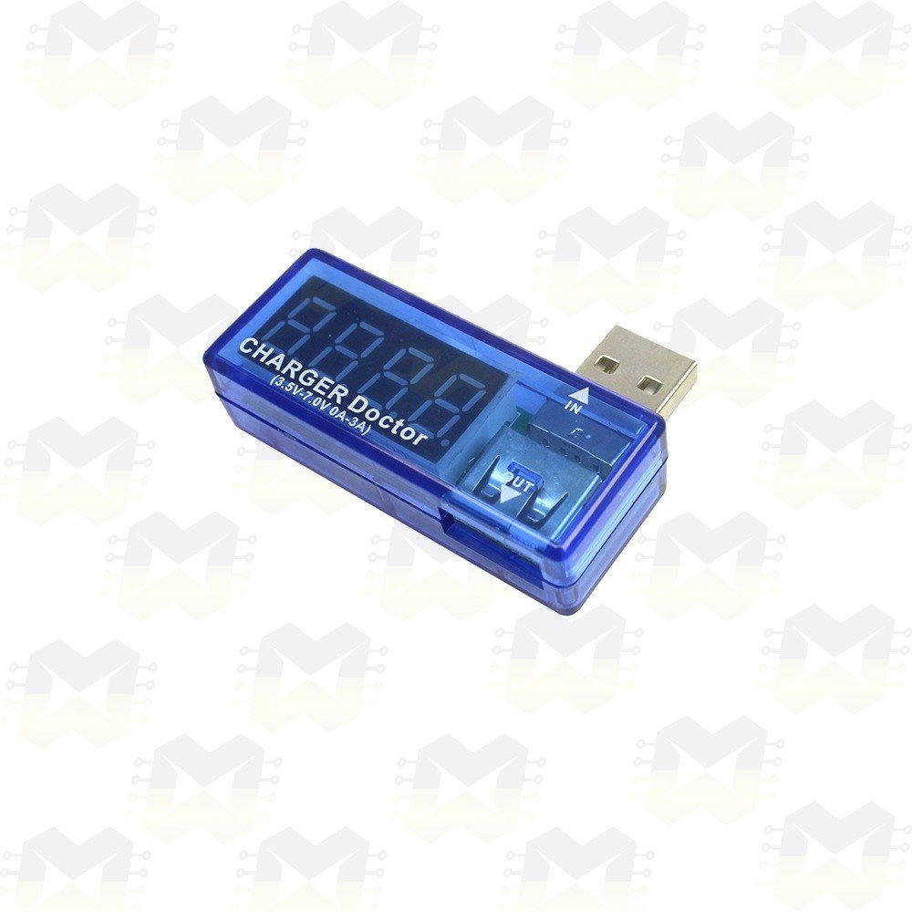 Testador (Amperímetro e Voltímetro) de Portas USB