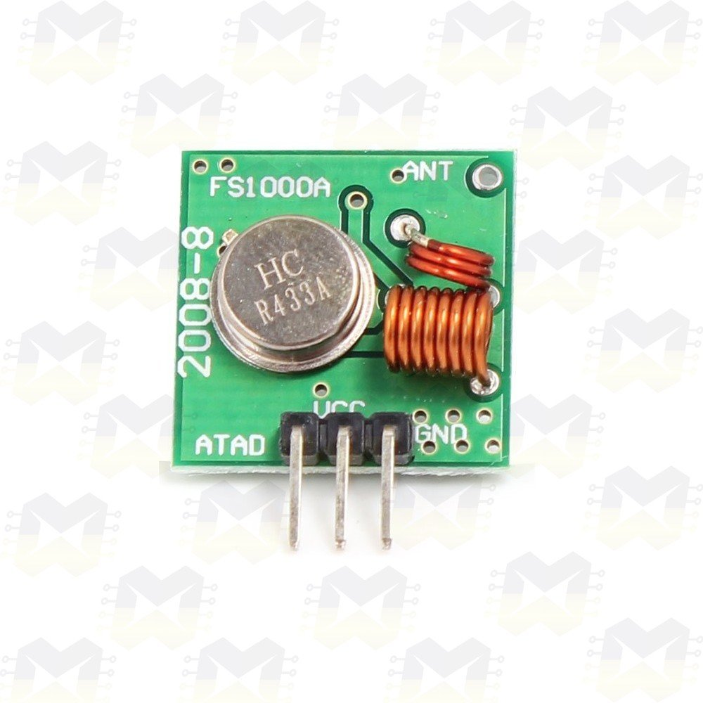 Módulo Transmissor Wireless RF 433MHz