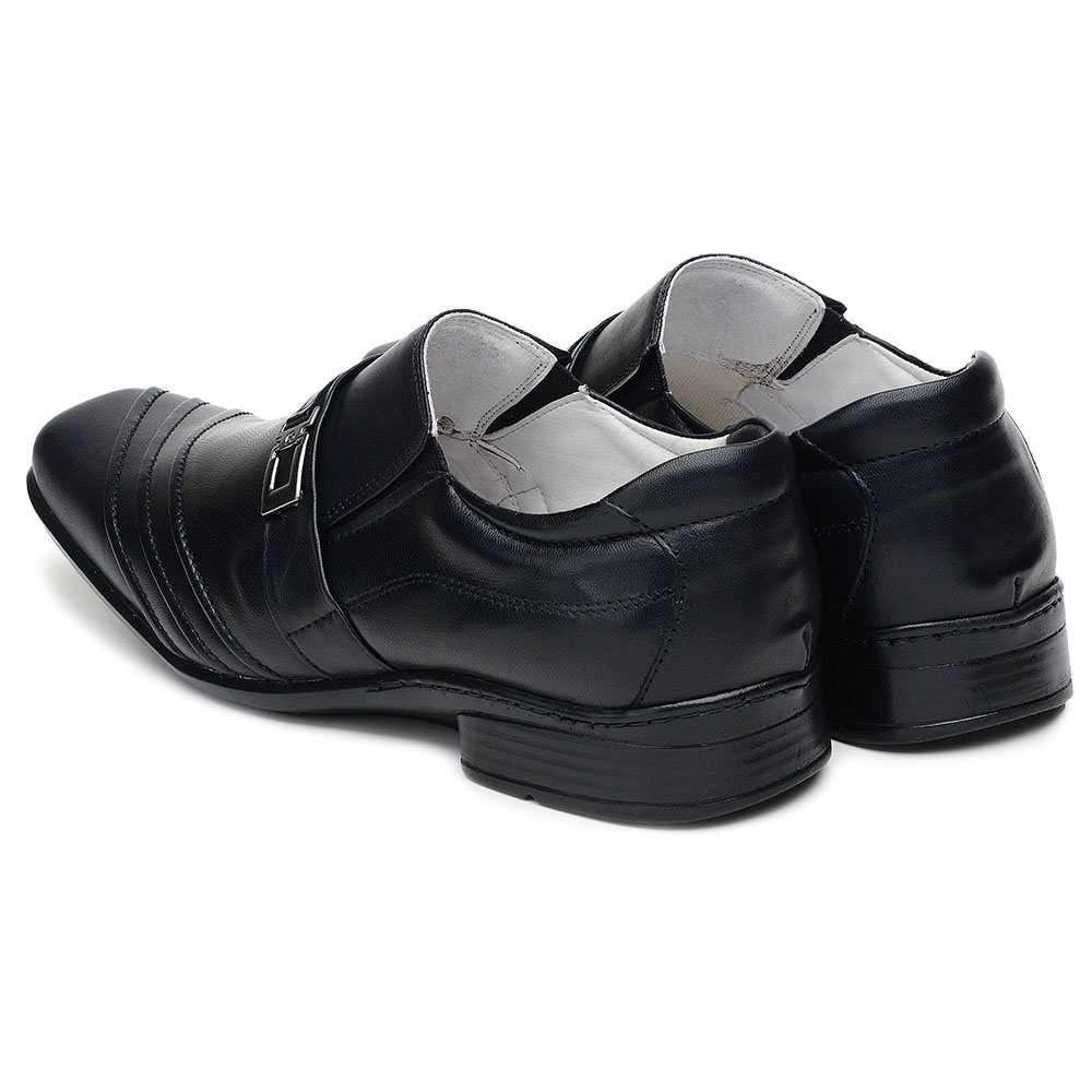 3f398e516 ... Sapato Masculino Ranster com Amortecedor Bico Quadrado Couro Preto -  Imagem 5