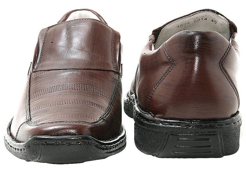 cde8882e12 ... Sapato Confortável Mafisa Palmilha Ge Couro Pinhão - Imagem 3 ...