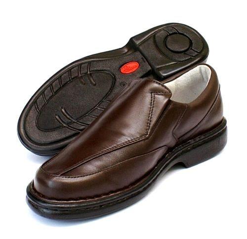 776c520241 Sapatos confortáveis para idosos - Pele de Carneiro Palmilha Gel ...