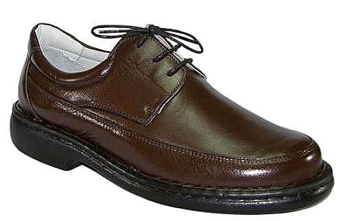 8d21a44485 ... Sapato Antistress Mafisa Couro Pelica Marrom ou Preto - Imagem 2 ...