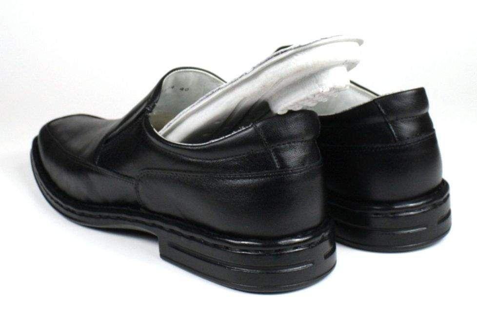 142b22b4a9 ... Sapato Masculino Mafisa Confortável Palmilha com Amortecedor Couro  Preto - Imagem 2 ...