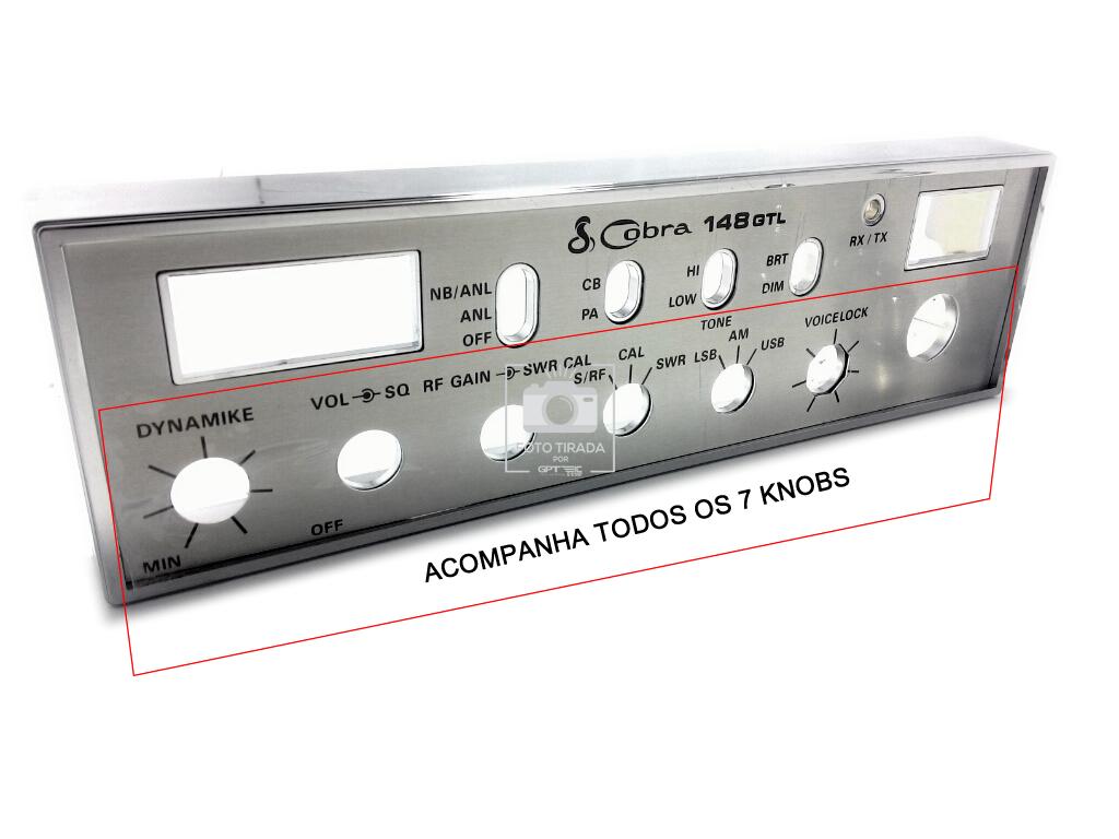Frente radio Cobra gtl 148