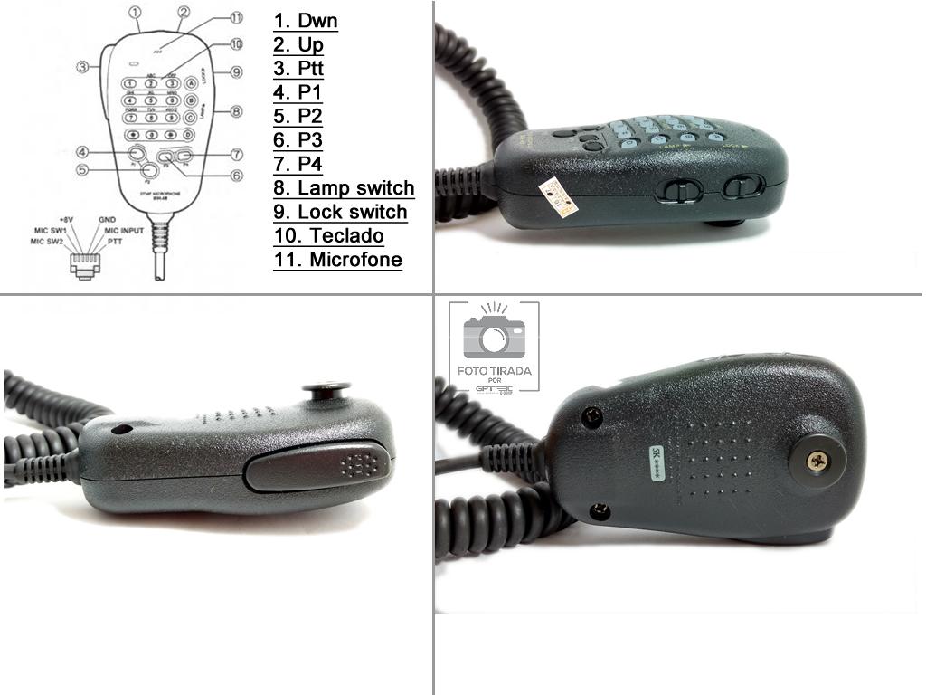 Ft 2900r 7800r Or 7900r To Signalink Usb Configuration Wiring Diagram Microfone Yaesu Mh48 Mh48a6j Original R 120 00 Em