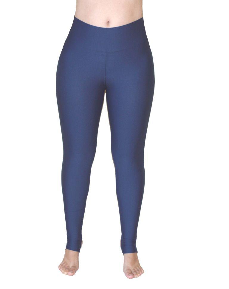 7a56410e0 Calça Legging Pezinho Azul Marinho - Celeiro Fitness Atacado