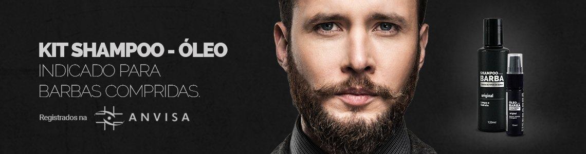 Shampoo e Óleo para barba
