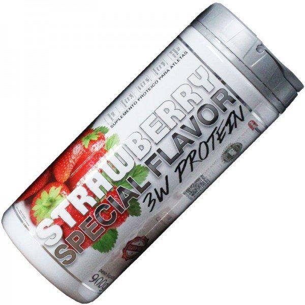 3wprotein-morango_Monstroman_Suplementos_Alimentares