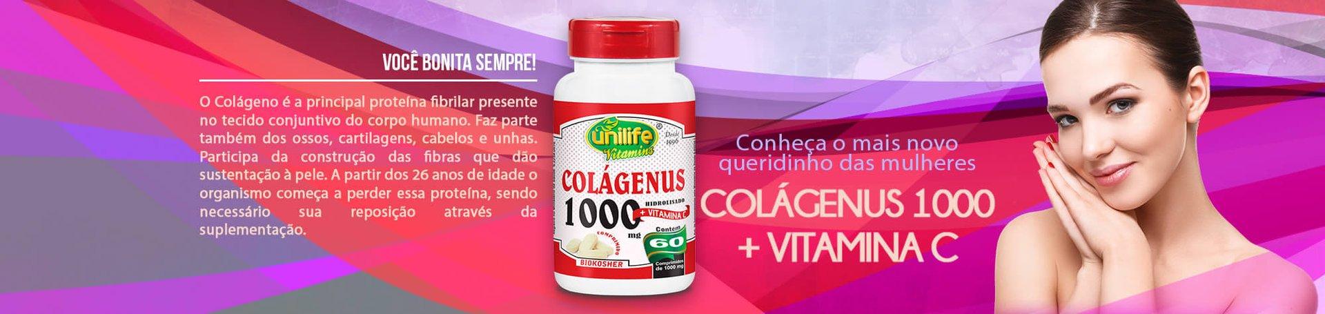 Colageno 120 capsulas + Vitamina C Loja Folha Verde