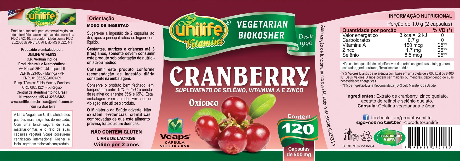 cranberry-capsulas-unilife