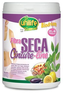 Fibra Seca Cinture Line Pote 400g - Unilife