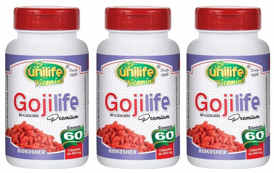 Goji Life Premium Original 60 capsulas Unilife
