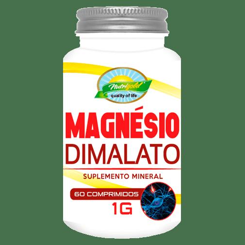 Magnesio Dimalato Nutrigold 120 Capsulas