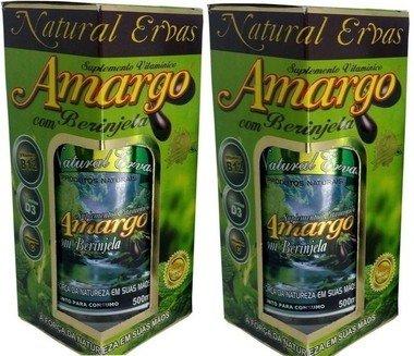 Natural Ervas Amargo com Berinjela Original Caixa 10 Unid.